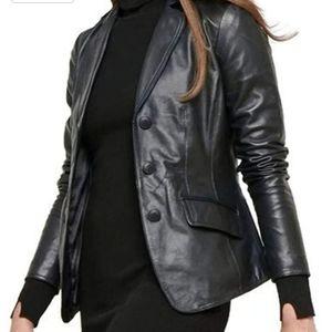 NEW Leather Jacket ( S)